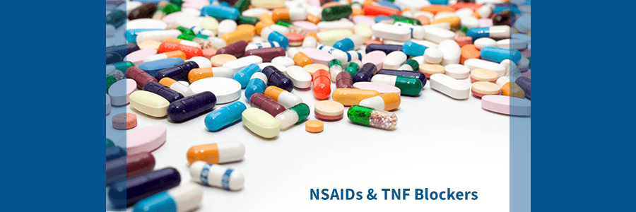 Nsaids & TNF Blocks for ankylosing spondylitis